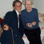 Amber Welkin met Margaret Carr1