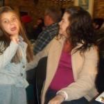 Tyra & Tanya dancing