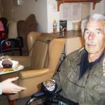 Brian Geldenhuis ontvang sy kolwyntjie