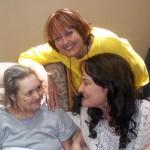 Luchelle met Barbara Swanepoel en haar dogter Barbara Sliep