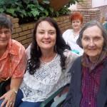 Luchelle met Helen Aucamp(Nailcare) en Ouma Dina Hamman