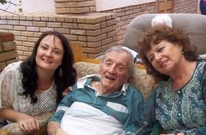Luchelle met Tom Williams en Barbara Rayner